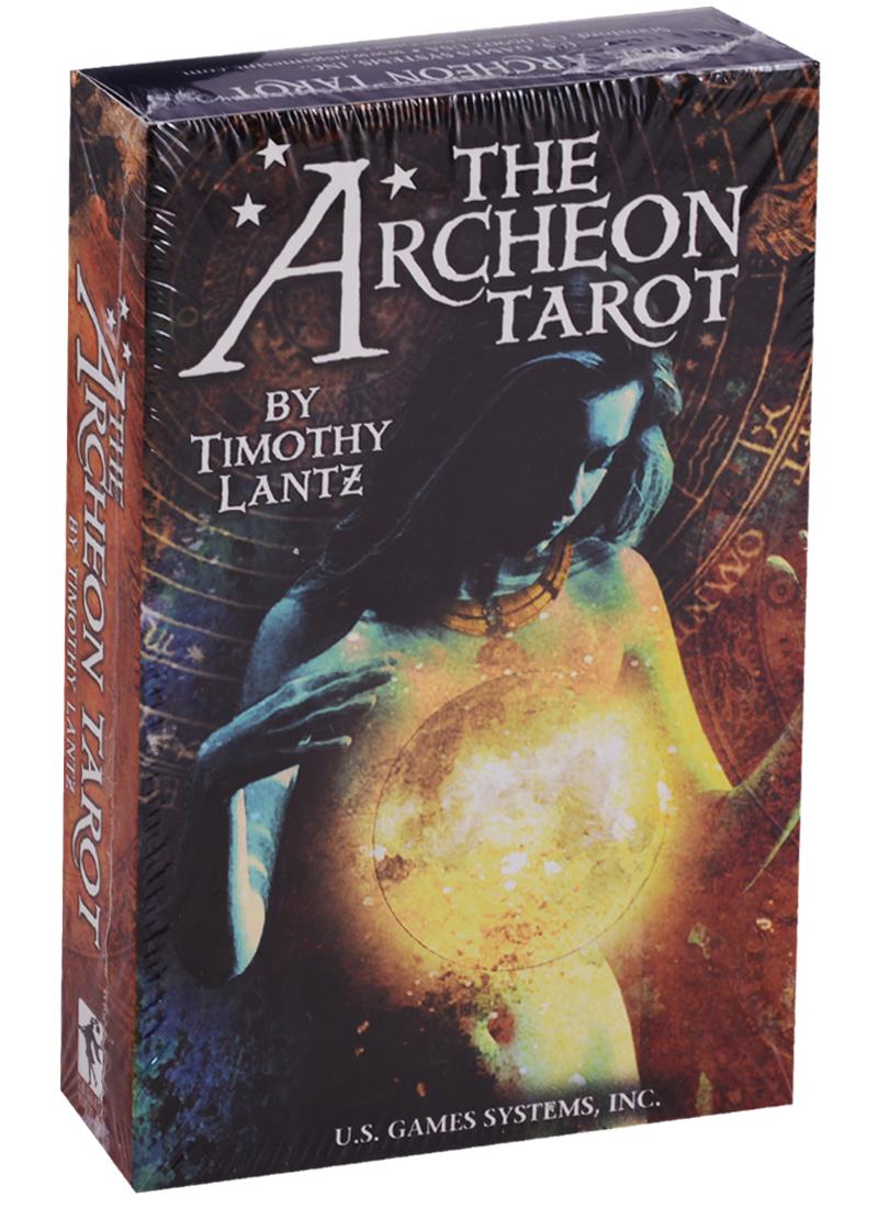 Archeon Tarot Premier Edition / Археон Таро Премьер (со скатертью-раскладом) (карты + инструкция на английском языке)