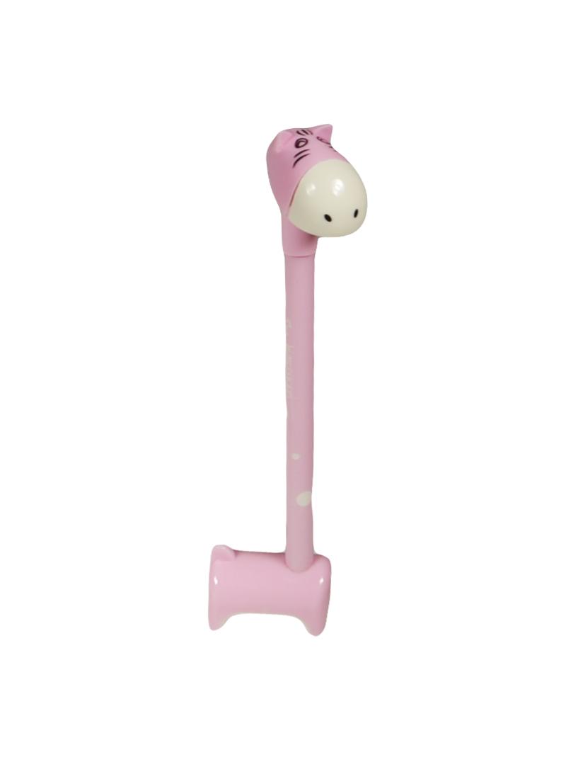 Ручка Ослик розовый (003456) (Карамба)