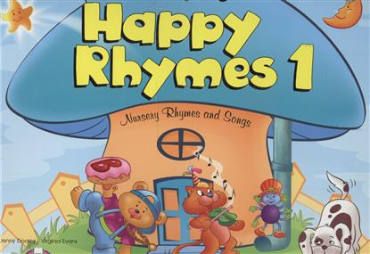 Evans V., Dooley J. Happy Rhymes 1. Nursery Rhymes and Songs. Big Story Book jenny dooley virginia evans happy rhymes 1 nursery rhymes and songs pupil s book