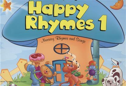 Evans V., Dooley J. Happy Rhymes 1. Nursery Rhymes and Songs. Big Story Book evans v dooley j enterprise plus grammar pre intermediate