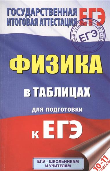 Маталина Е. (отв. ред.) Физика в таблицах для подготовки к ЕГЭ. 10-11 класс ISBN: 9785170986521 маталина е ред физика в таблицах 10 11 классы справочное пособие