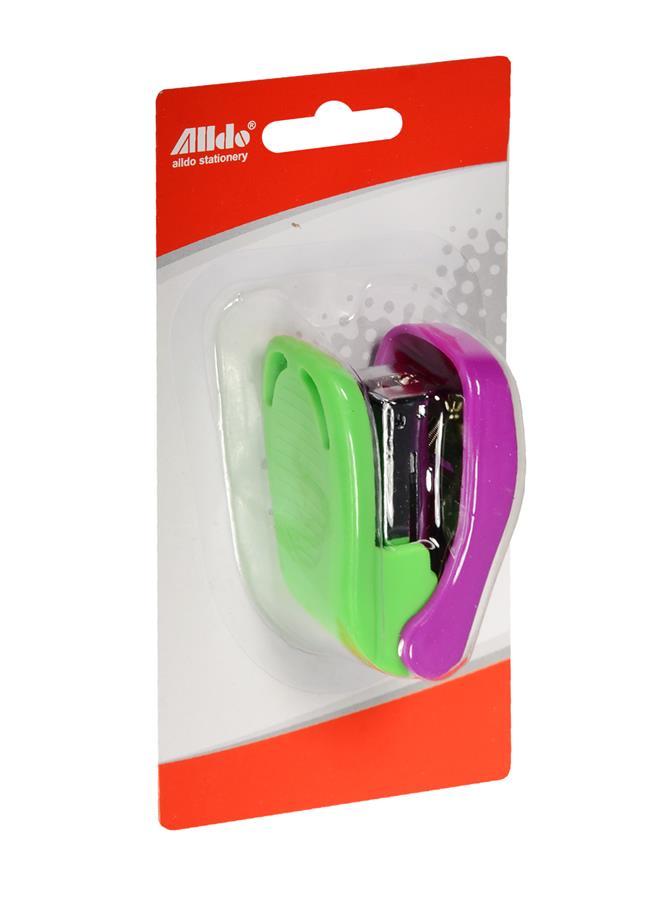 Степлер №24/6 мини, двухцветный, пластиковый, блистер, MUST HAVE!