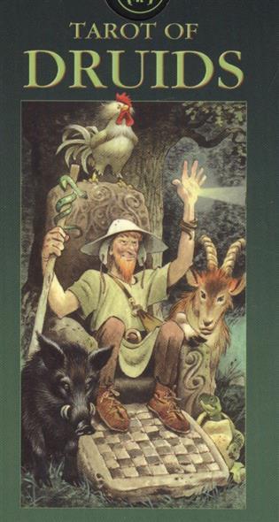 Винга Б. Таро Друидов (Tarot of Druids) (на 5 языках: английский, итальянский, испанский, французский, немецкий) (AV78) (Аввалон) ciro marchetti tarot of dreams таро снов набор 83 карты с книгой на английском языке