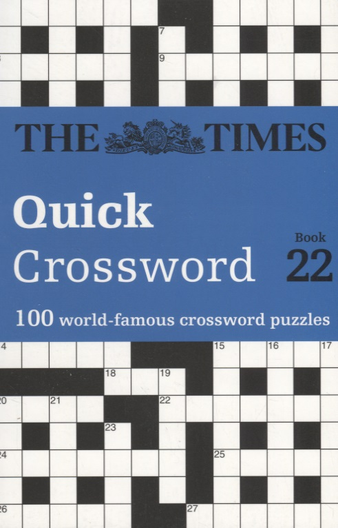 The Times Quick Crossword Book 22 100 General Knowledge Puzzles ISBN: 9780008241292 chicago tribune sunday crossword puzzles volume 2