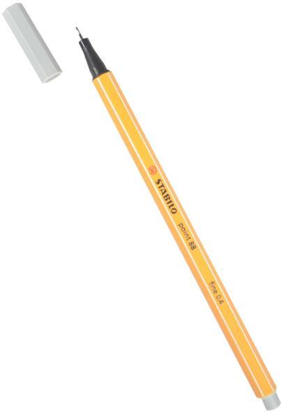 Ручка капиллярная светло-серый