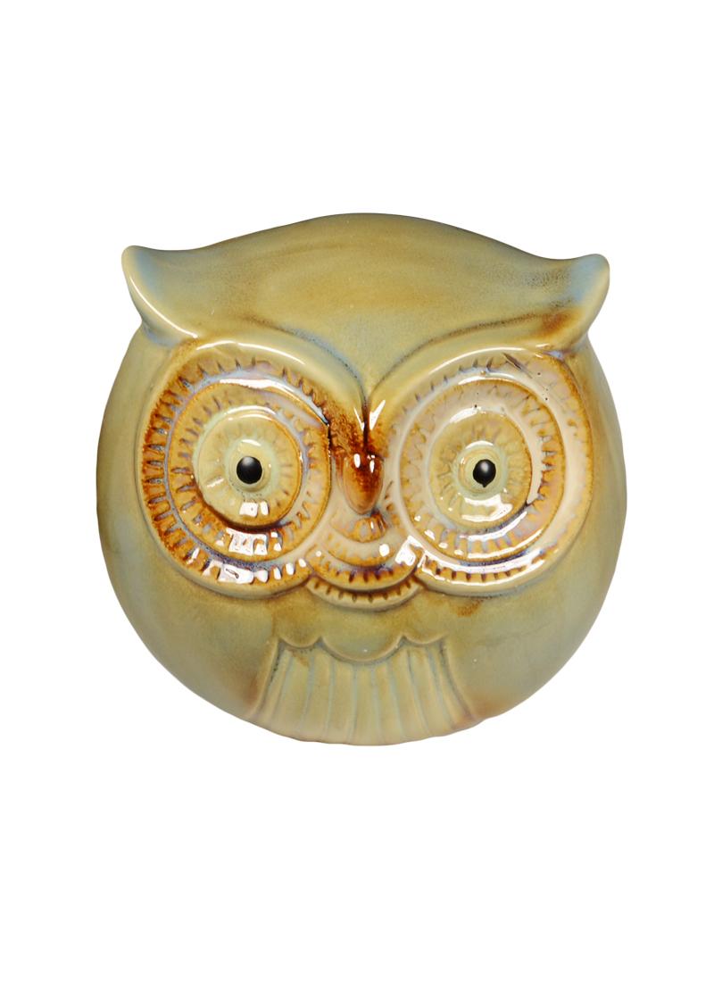 Копилка Сова керамика 10см