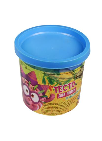 Тесто для лепки Смешарики (87186) (12 цветов по 8 грамм) (3+)
