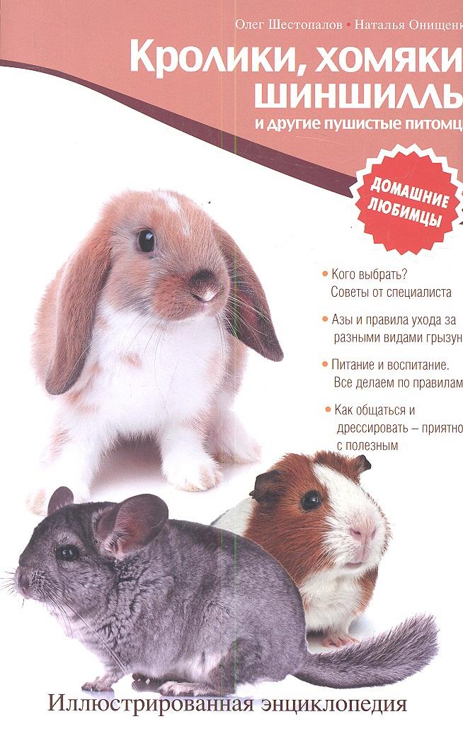 Шестопалов О., Онищенко Н. Кролики, хомяки, шиншиллы и другие пушистые питомцы цена 2017