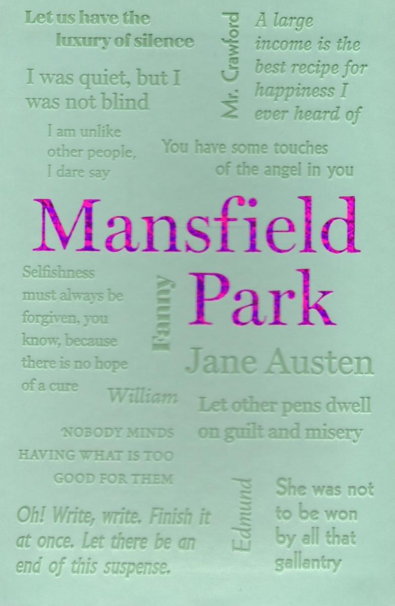 Austen J. Mansfield Park austen j mansfield park a novel in english 1814 мэнсфилд парк роман на английском языке 1814