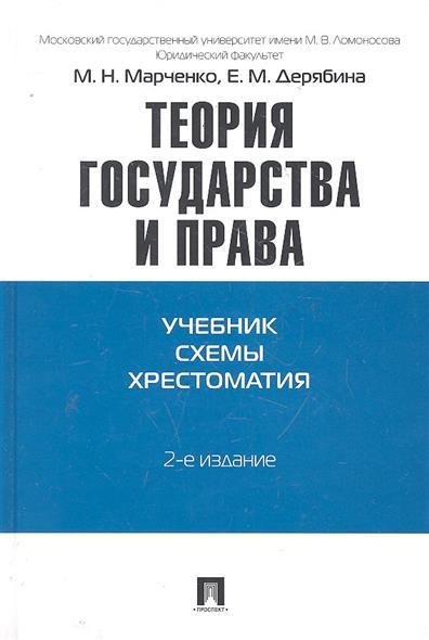 Марченко М., Дерябина Е. Теория государства и права Учебник Схемы Хрестоматия е в тимошина общая теория права учебник