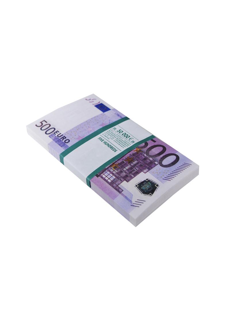 Сувенирные банкноты 500 евро
