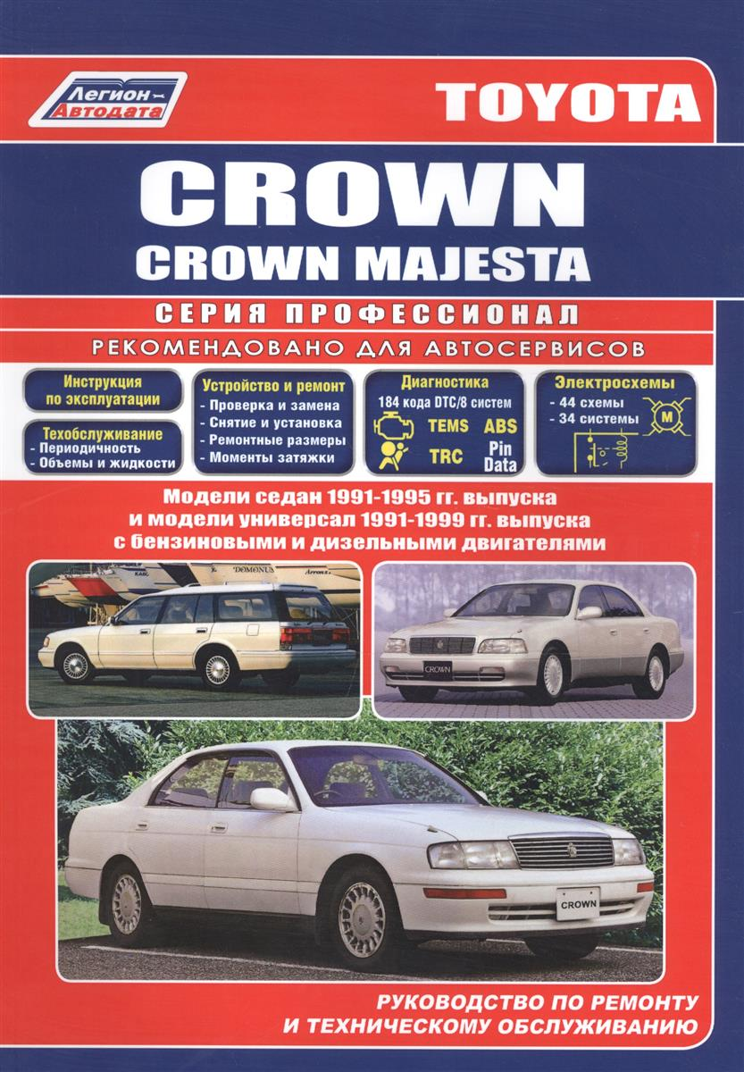 Toyota Crown/Crown Majesta седан 1991-96 и универсал 1991-99