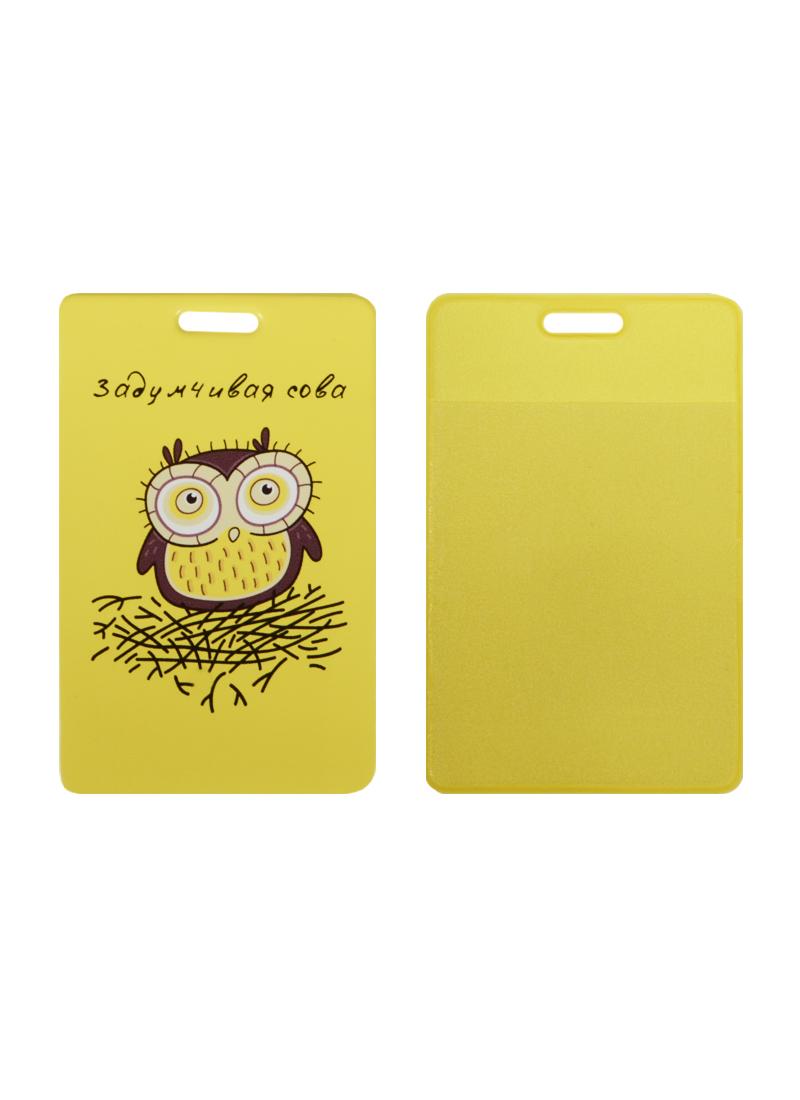 Чехол для карточек Задумчивая сова (ДК2015-014)