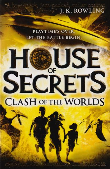 Columbus C., Vizzini N., Rylander C. House of Secrets: Clash of the Worlds rollercoasters the war of the worlds