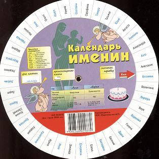 Круг Календарь именин