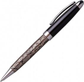 """Ручка подарочная шариковая """"Ravenna"""" темно-золотая, Manzoni"""