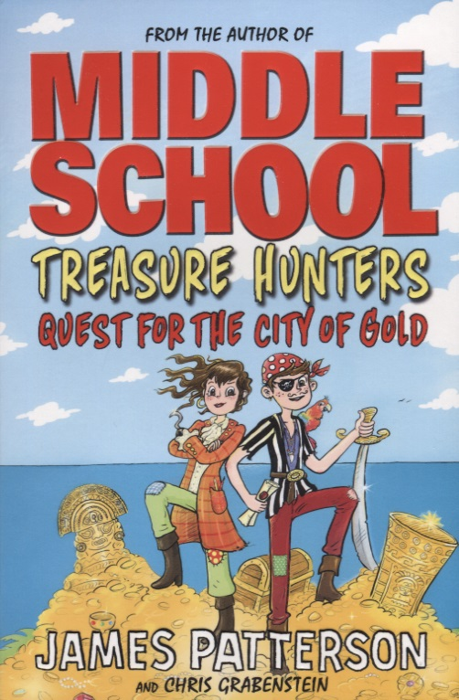 Patterson J., Grabenstein C. Treasure Hunters. Quest for the City of Gold фоторамка