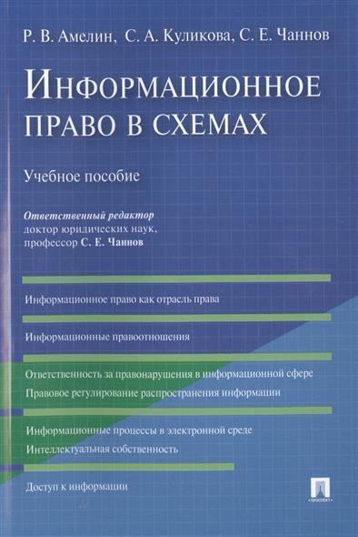 Информационное право в схемах. Учебное пособие