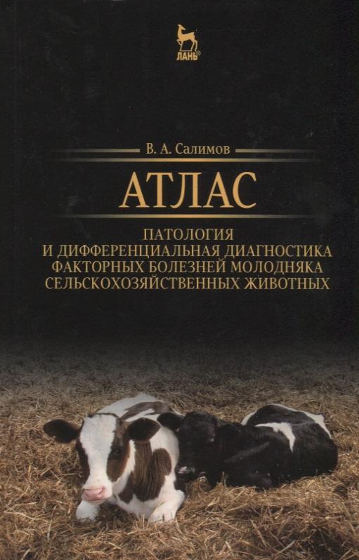 Салимов В. Атлас. Патология и дифференциальная диагностика факторных болезней молодняка сельскохозяйственных животных. Учебно-методическое пособие цена