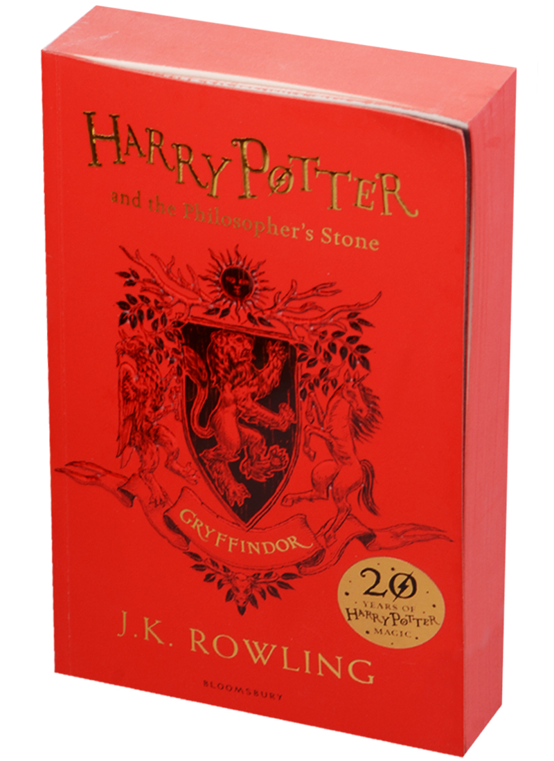 Rowling J. Harry Potter and the Philosopher's Stone - Gryffindor Edition Paperback rowling j k harry potter and the cursed child parts i