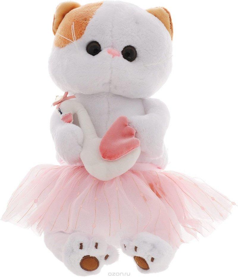 Мягкая игрушка Ли-Ли балерина с лебедем (27 см)