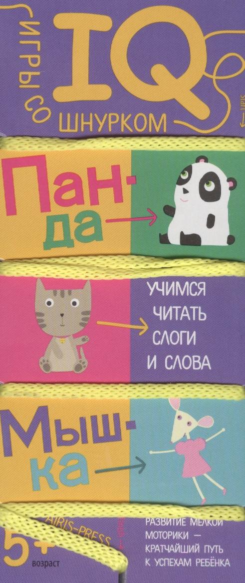Игры со шнурком. Учимся читать слоги и слова. IQ игры для детей от 5 лет dayan 5 zhanchi 3x3x3 brain teaser magic iq cube