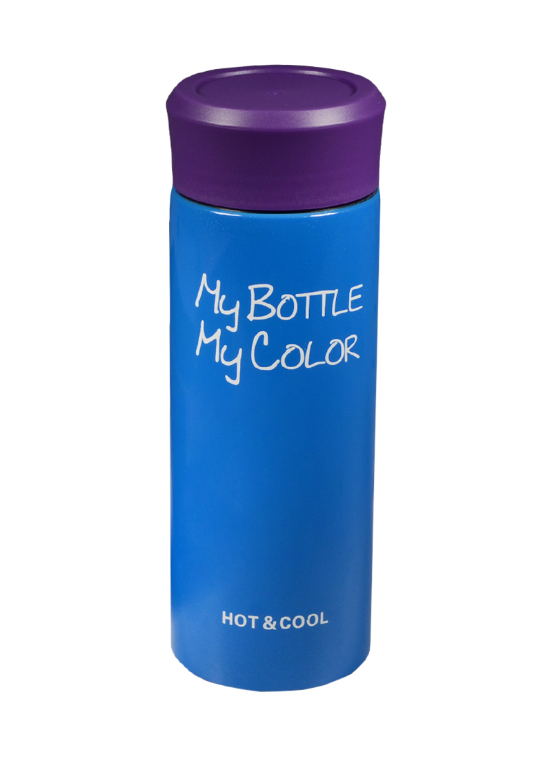 Термос My Bottle Colorful голубой (330 мл)