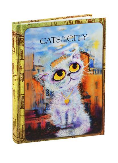 Блокнот Cats in the City (Облакокошечка)