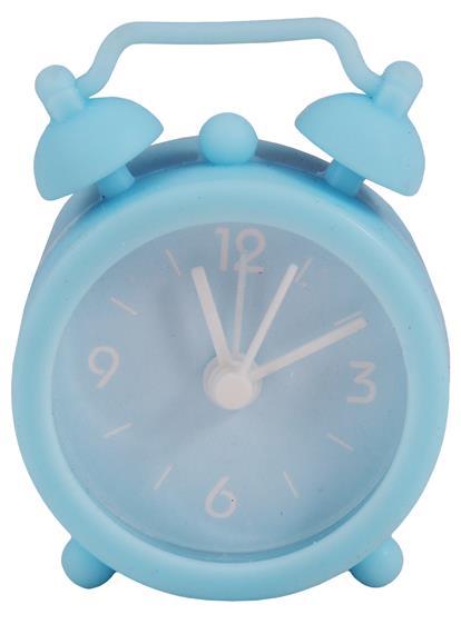 Мини-будильник Цветной (силикон) (пластик)