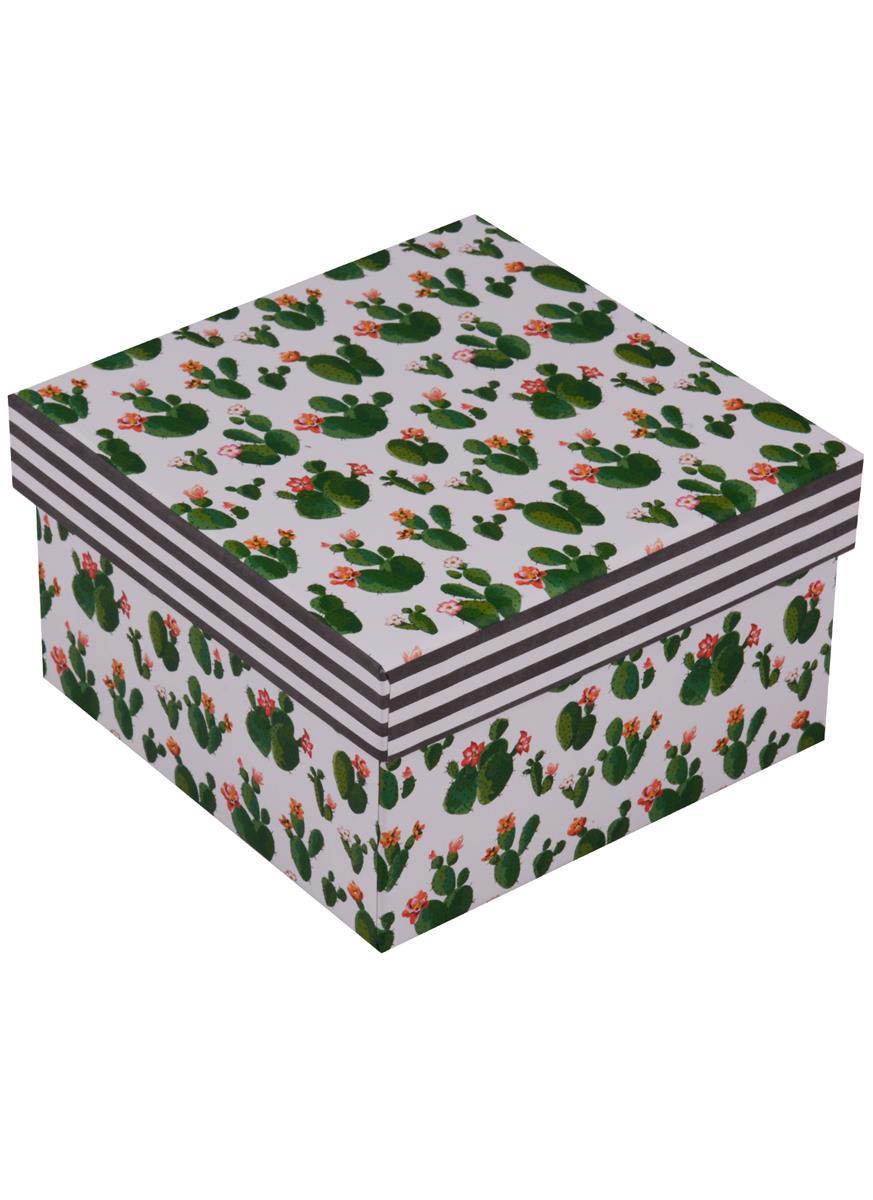 """Коробка подарочная """"Кактусы"""""""