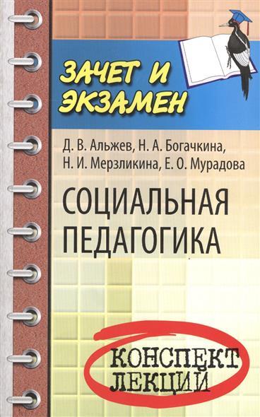 Альжев Д., Богачкина Н., Мерзликина Мурадова Е. Социальная педагогика. Конспект лекций