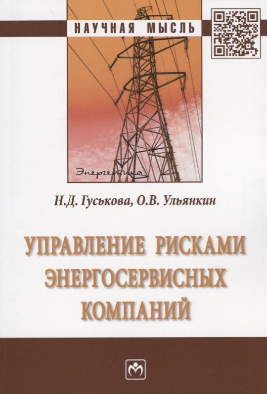 Управление рисками энергосервисных компаний. Монография