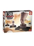 3D Пазл 190 Нефертити (EDUCA) (22х14х23см) (6+)