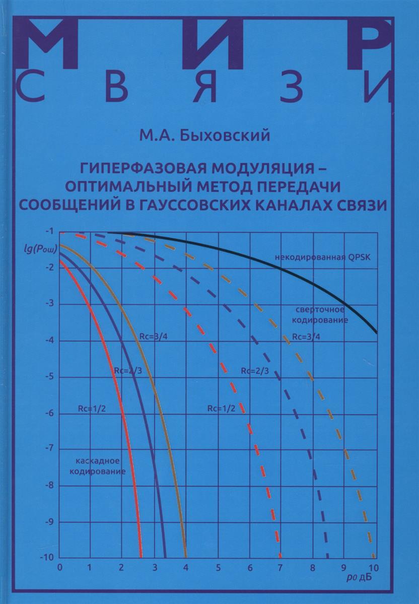 Быховский М. Гиперфазовая модуляция - оптимальный метод передачи сообщений в гауссовских каналах связи