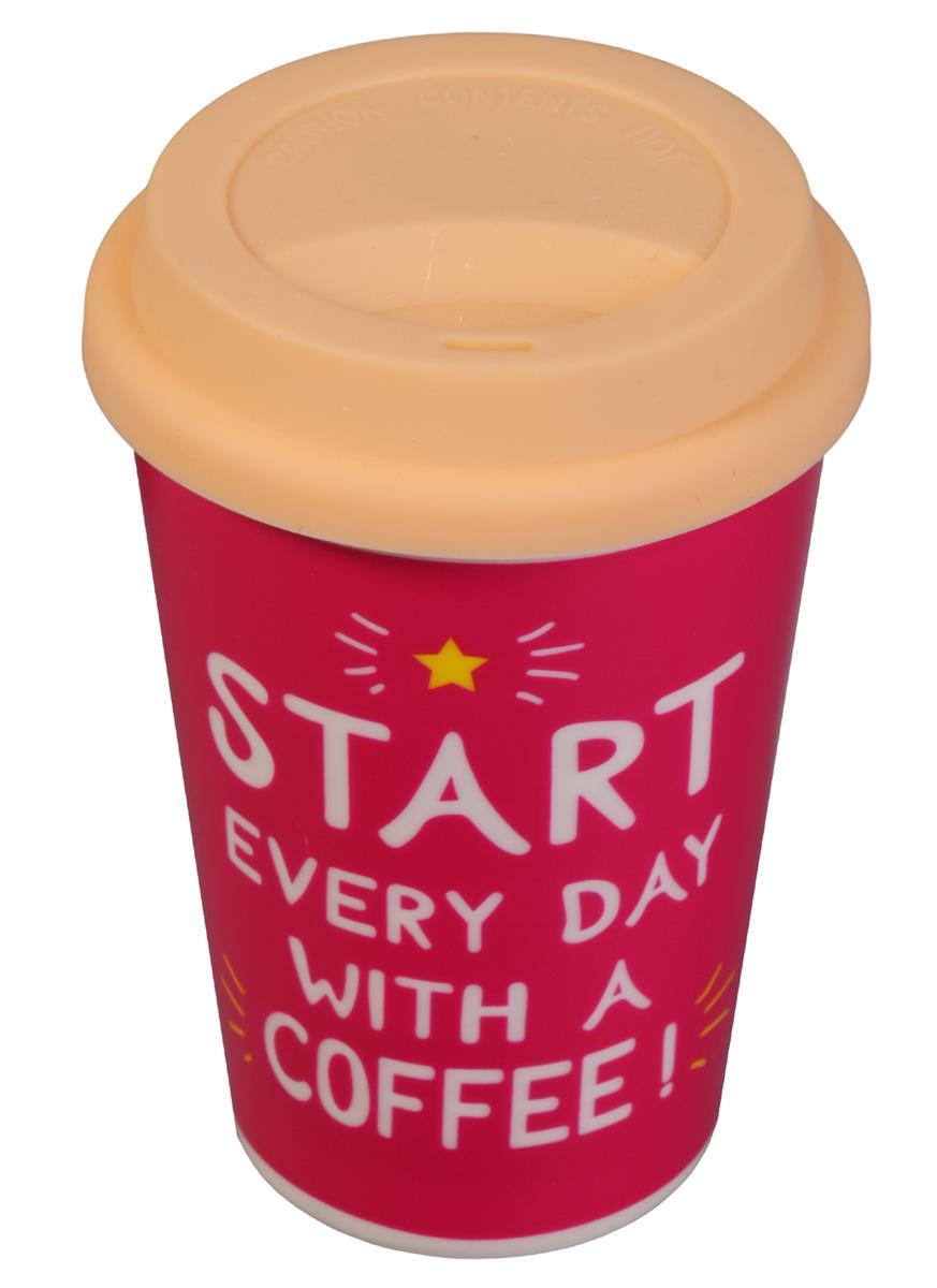 Стакан керамический Start every day