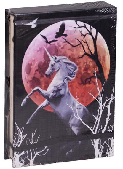 Дневник Готический Единорог. Для магических записей (95х140) дневник для записей lo scarabeo готический единорог 192 страницы jou17