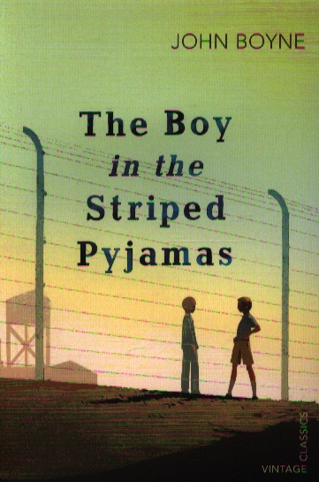 Boyne J. The Boy in the Striped Pyjamas 2 in 1 fluted sleeve striped dress