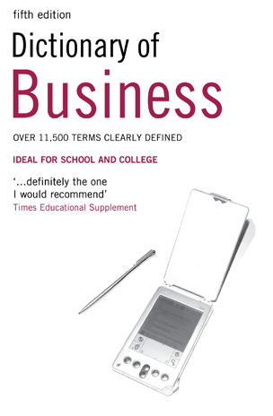 Collin P. Dictionary of Business fourth edition random house webster s dictionary revised edition