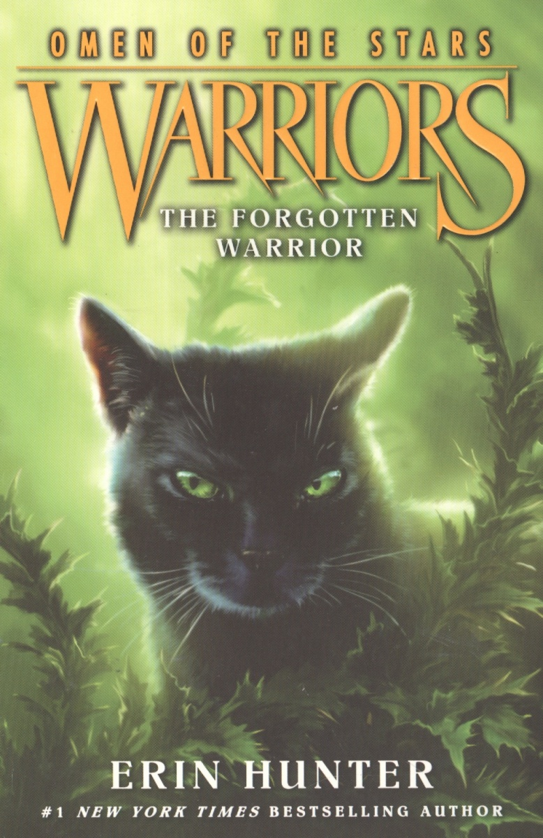 Hunter Е. Warriors: Omen of the Stars #5: The Forgotten Warrior ISBN: 9780062382627 girls frill trim solid jumpsuit