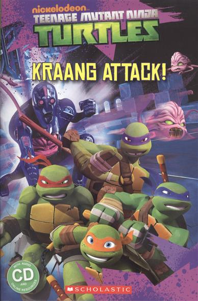 Davis F. Teenage Mutant Ninja Turtles: Kraang Attack! Level 2 (+CD) рюкзак sprayground teenage mutant ninja grillz backpack b190b leonardo blue