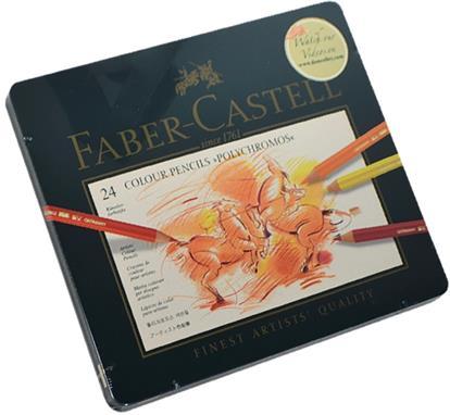 "Карандаши цветные ""Polychromos"", 24 цв., Faber-Castell"