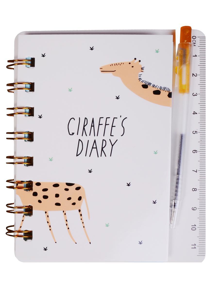 """Записная книжка А6 """"Diary"""" с ручкой"""