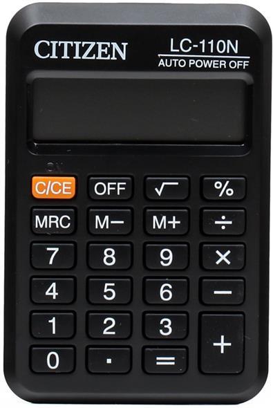 Калькулятор карманный CITIZEN LC-110N