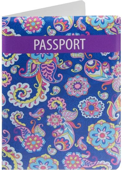 """Обложка для паспорта """"Узор с завитушками"""""""