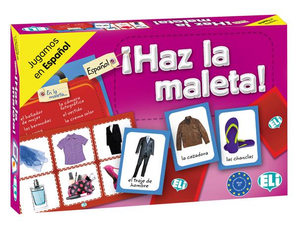 Games: [A1-A2]: Haz la maleta! ISBN: 9788853619297 vocabulario elemental a1 a2 2cd