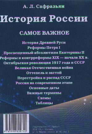 История России. Самое важное