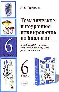 ТиПП по биологии 6 кл