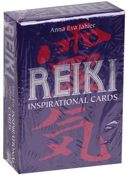 Anna Eva Jahier Рейки. Карты вдохновения (инструкция на русском языке) магические послания богинь 44 карты инструкция