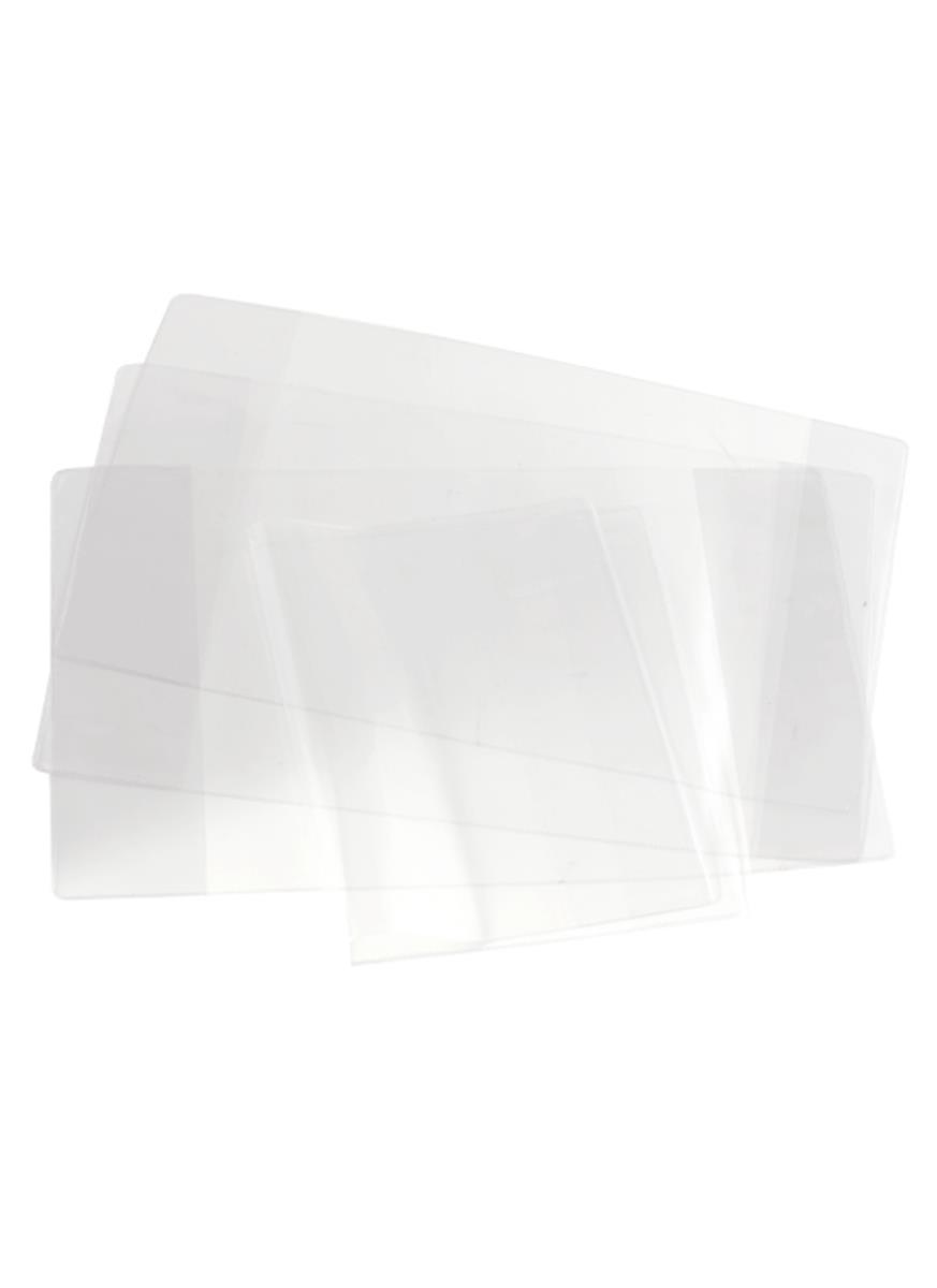 Обложки 10шт д/тетрадей и дневника п/э 100мкм, прозр., 212*350мм, Топ-спин