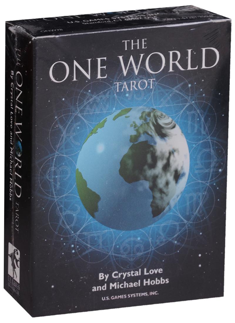 Love C., Hobbs M. The One World Tarot / Один Мир Таро (карты + инструкция на английском языке) магические послания богинь 44 карты инструкция